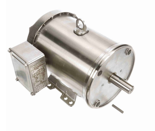 N183B Marathon 1 1/2 hp 1200 RPM 3-Phase 182TC Frame TEFC (rigid base) 230/460V Marathon Motor