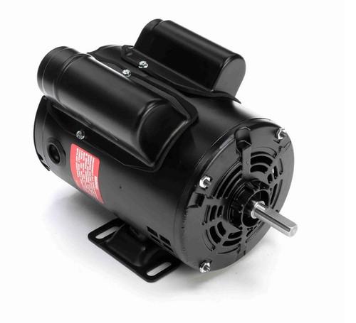 OB1024ES Century 1/4 hp 1800 RPM 1-Phase 48 Frame ODP (rigid base) 115/230V Century Motor # OB1024ES