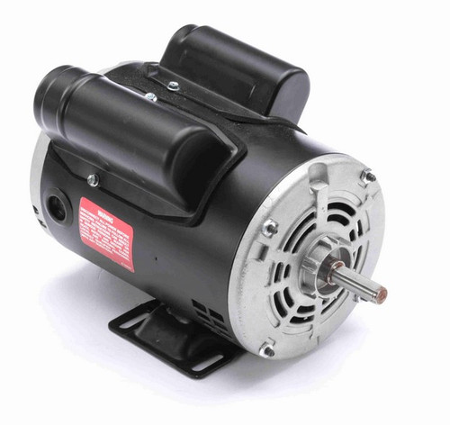 C102LES Century 1/3 hp 1800 RPM 1-Phase 48 Frame ODP (rigid base) 115/230V