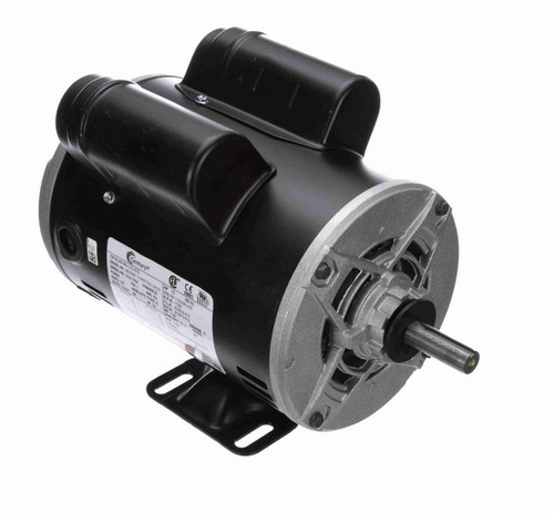 3/4 hp 1800 RPM 1-Phase 56 Frame ODP (rigid base) 115/208-230V Century Motor # C323ES