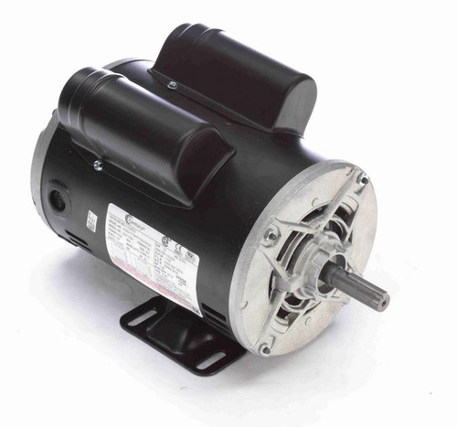 3/4 hp 1800 RPM 1-Phase 56 Frame ODP (rigid base) 115/230V Century Motor # C526ES