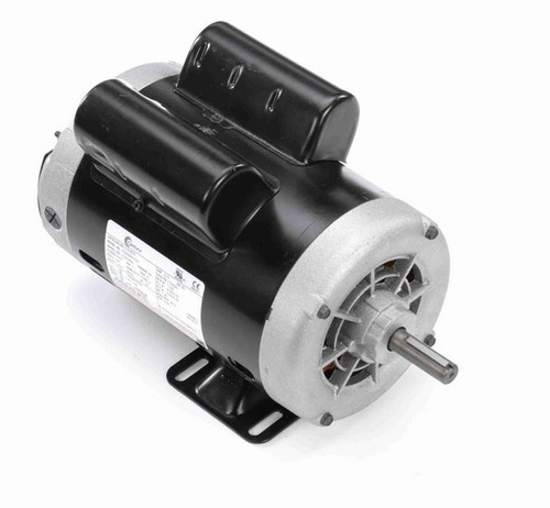 3/4 hp 1200 RPM 1-Phase 56 Frame ODP (rigid base) 115/230V Century Motor # C324ES