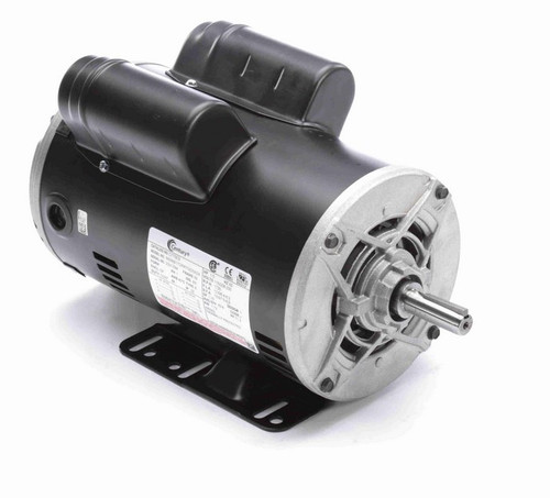 1 1/2 hp 1800 RPM 1-Phase 56 Frame ODP (rigid base) 115/208-230V Century Motor # C775ES