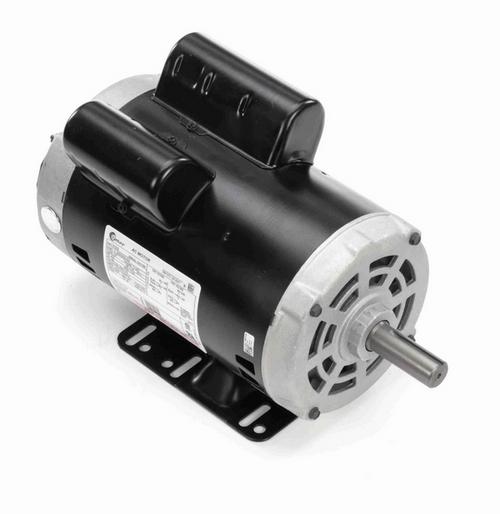 V102 Century 2 hp 1800 RPM 1-Phase 145T Frame ODP (rigid base) 115/208-230V Century Motor # V102