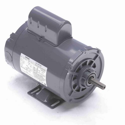 C150L Century 1/3 hp 1800 RPM 1-Phase 48 Frame TENV (rigid base) 115/230V Century Motor # C150L