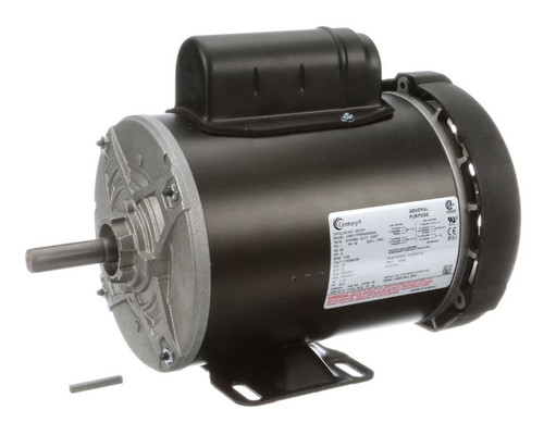 C612V1 Century 1/2 hp 1800 RPM 1-Phase 56 Frame TEFC (rigid base) 115/208-230V
