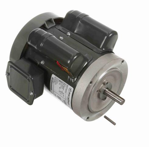 E256 Marathon 1/3 hp 1800 RPM 56C Frame TEFC (no base) 100-120/200-230V Marathon Motor