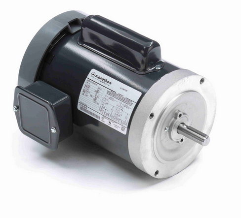 C1424 Marathon 1 1/2 hp 3600 RPM 56C Frame TEFC C-Face (no base) 115/230V Marathon Electric Motor