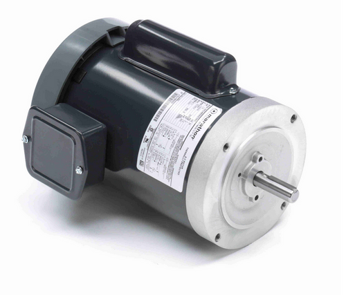 C855 Marathon 1 1/2 hp 3600 RPM 56C Frame TEFC C-Face (no base) 115/230V Marathon Electric Motor