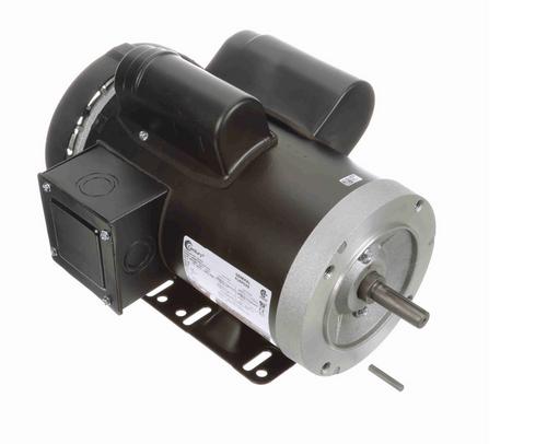 C213V1 Century 2 hp 1800 RPM 56C Frame TEFC (rigid base) 115/230V Century Motor # C213