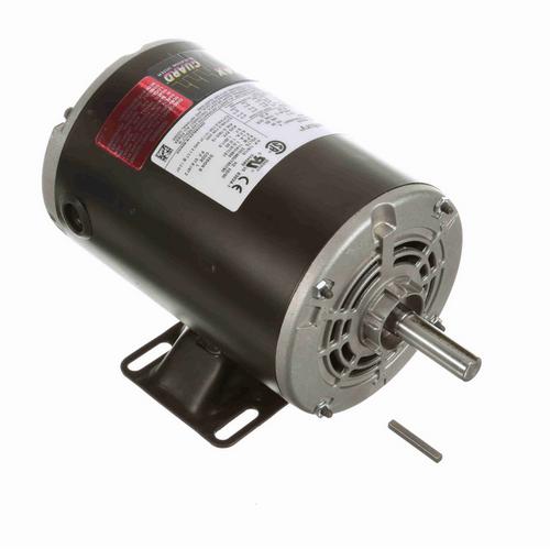 H204ES Century 1/4 hp 1200 RPM 3-Phase 56 Frame ODP (rigid base) 230/460V Century Motor # H204ES