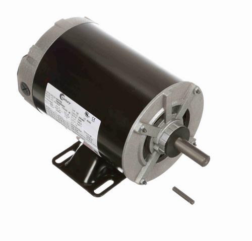 H437ES Century 1/2 hp 3600 RPM 3-Phase 56 Frame ODP (rigid base) 230/460V Century Motor # H437ES