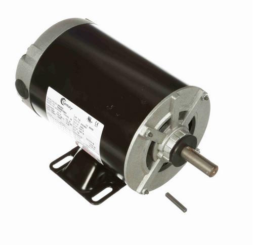 H602ES Century 1 hp 3600 RPM 3-Phase 56 Frame ODP (rigid base) 230/460V Century Motor # H602ES