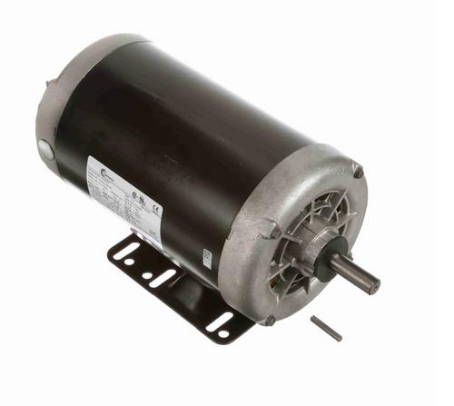 H526ES Century 1 hp 1200 RPM 3-Phase 56 Frame ODP (rigid base) 230/460V Century Motor # H526ES