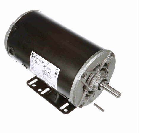 1 1/2 hp 1800 RPM 3-Phase 56 Frame ODP (rigid base) 208-230/460V Century Motor # H884LES
