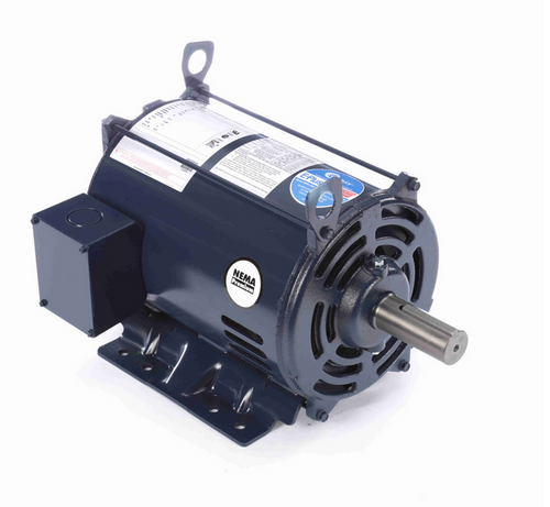E316M2 Century 7 1/2 hp 1800 RPM 3-Phase 213T Frame ODP (rigid base) 200V Century Motor # E316M2