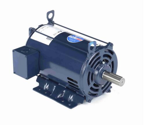 E331M2 Century 10 hp 1800 RPM 3-Phase 215T Frame ODP (rigid base) 200V Century Motor # E331M2