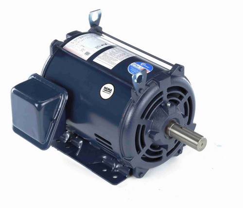 E450M2 Century 15 hp 1800 RPM 3-Phase 254T Frame ODP (rigid base) 200V Century Motor # E450M2