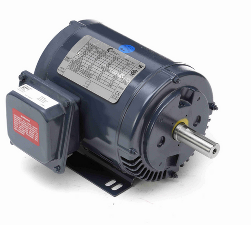 TO102 Century 1 hp 1800 RPM 3-Phase 143T Frame ODP (rigid base) 575V Century Motor # TO102