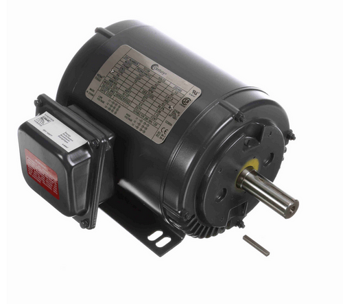 TO108 Century 1-1/2 hp 3600 RPM 3-Phase 143T Frame ODP (rigid base) 208-230/460 Century Motor # TO108