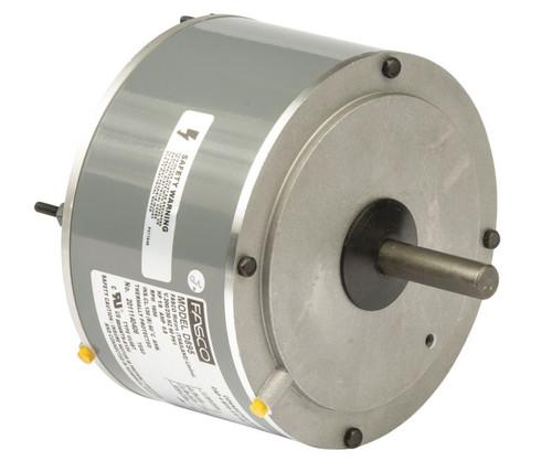 "Fasco D895 Motor | 1/8 hp 1650 RPM CW 5.6"" Diameter 208-230 Volts (Trane)"