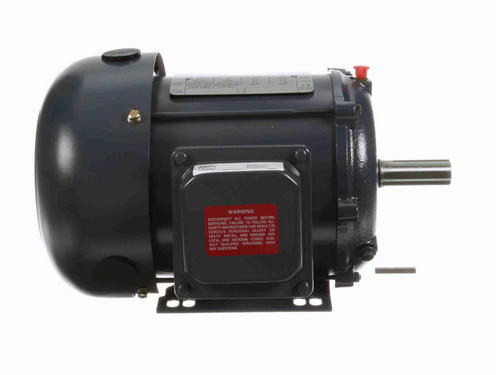 1 1/2 hp 1800 RPM 3-Phase 145T Frame TEFC (rigid base) 200V Century Motor # TE107