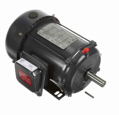 TE117 Century 2 hp 3600 RPM 3-Phase 145T Frame TEFC (rigid base) 208-230/460V Century Motor # TE117