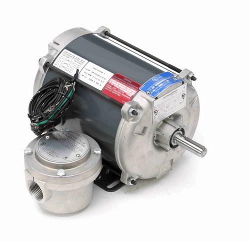 G646 Marathon 1/4 hp 1800 RPM 3-Phase 56 Frame TENV (rigid base) 208-230/460V Marathon Motor