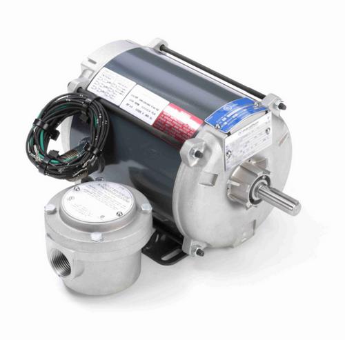 1/3 hp 1800 RPM 3-Phase 56 Frame TENV (rigid base) 208-230/460V Marathon Motor # G647