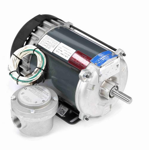 K2101 Marathon 1/3 hp 1200 RPM 3-Phase 56 Frame TEFC (rigid base) 230/460V Marathon Motor