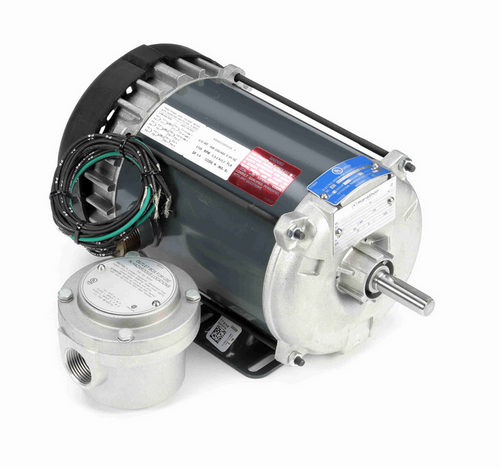 1/2 hp 1800 RPM 3-Phase 56 Frame TEFC (rigid base) 208-230/460V Marathon Motor # G649