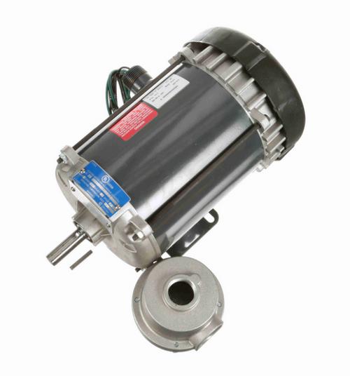 K2102 Marathon 1/2 hp 1800 RPM 3-Phase 56 Frame TEFC (rigid base) 200V Marathon Motor
