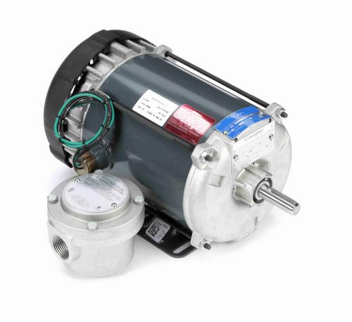 G666 Marathon 1/2 hp 1800 RPM 3-Phase 56 Frame TEFC (rigid base) 575V Marathon Motor