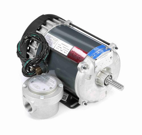 K2104 Marathon 1/2 hp 1200 RPM 3-Phase 56 Frame TEFC (rigid base) 230/460V Marathon Motor
