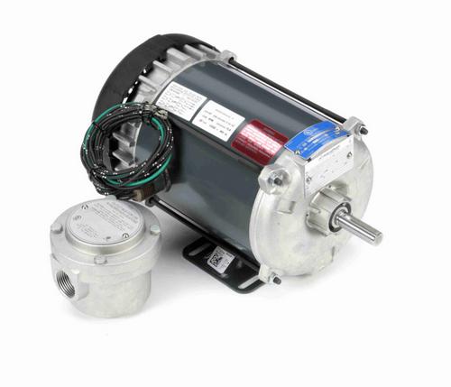 G661 Marathon 3/4 hp 1800 RPM 3-Phase 56 Frame TEFC (rigid base) 208-230/460V Marathon Motor