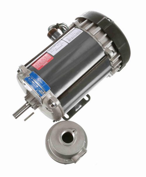 K2105 Marathon 3/4 hp 1800 RPM 3-Phase 56 Frame TEFC (rigid base) 200V Marathon Motor