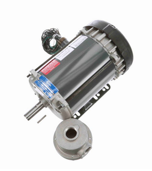 K2107 Marathon 3/4 hp 1200 RPM 3-Phase 143T Frame TEFC (rigid base) 208-230/460V Marathon Motor