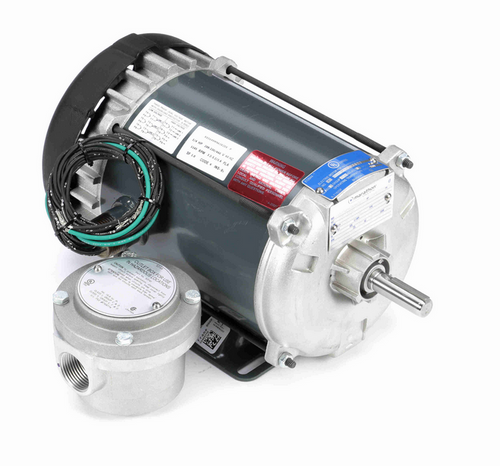 3/4 hp 1200 RPM 3-Phase 56 Frame TEFC (rigid base) 208-230/460V Marathon Motor # K2116