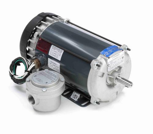 1 hp 1800 RPM 3-Phase 56 Frame TEFC (rigid base) 230/460V Marathon Motor # G663A