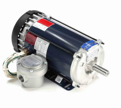 1 hp 1200 RPM 3-Phase 145T Frame TEFC (rigid base) 230/460V Marathon Motor # I504