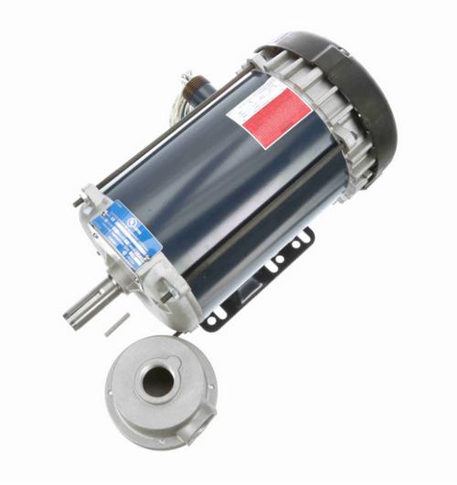 1 1/2 hp 3600 RPM 3-Phase 143T Frame TEFC (rigid base) 575V Marathon Motor # I507