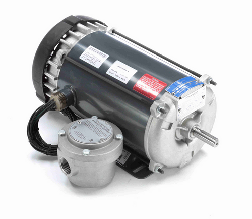 K2111A Marathon 1 1/2 hp 1800 RPM 3-Phase 56 Frame TEFC (rigid base) 230/460V Marathon Motor