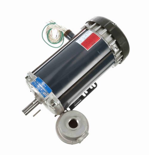 2 hp 3600 RPM 3-Phase 145T Frame TEFC (rigid base) 230/460V Marathon Motor # I512