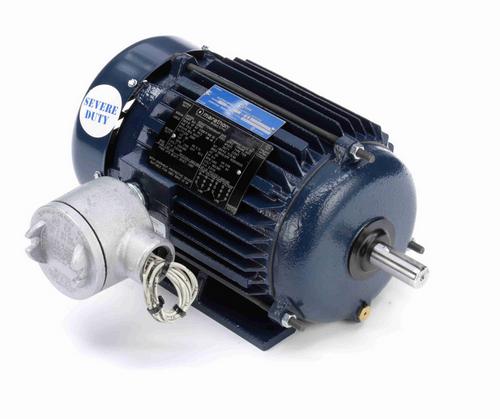 U001A Marathon 1 hp 1800 RPM 3-Phase 145T Frame TEFC (rigid base) 230/460V Marathon Motor