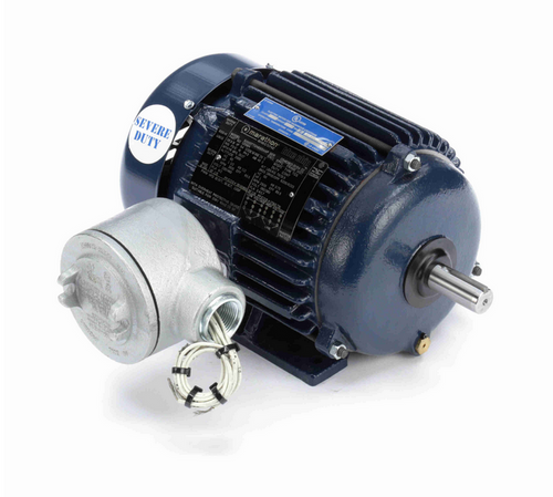U058A Marathon 1 1/2 hp 3600 RPM 3-Phase 143T Frame TEFC (rigid base) 230/460V Marathon Motor