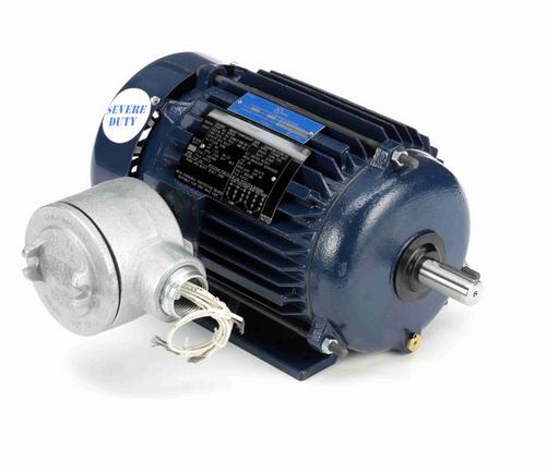 1 1/2 hp 1800 RPM 3-Phase 145T Frame TEFC (rigid base) 230/460V Marathon Motor # U002A