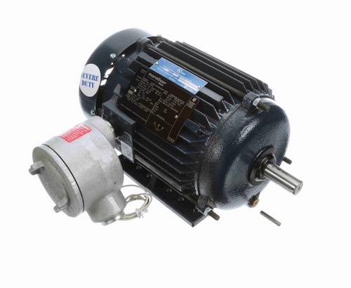 U021A Marathon 1 1/2 hp 1800 RPM 3-Phase 145T Frame TEFC (rigid base) 575V Marathon Motor