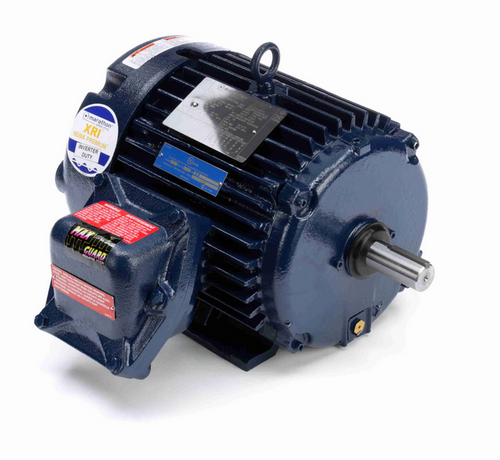 1 1/2 hp 1200 RPM 3-Phase 182T Frame TEFC (rigid base) 230/460V Marathon Motor # U040A