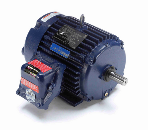 U989-P Marathon 3 hp 1800 RPM 3-Phase 182T Frame TEFC (rigid base) 230/460V Marathon Motor