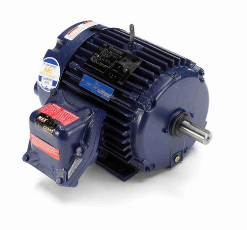 U023A Marathon 3 hp 1800 RPM 3-Phase 182T Frame TEFC (rigid base) 575V Marathon Motor